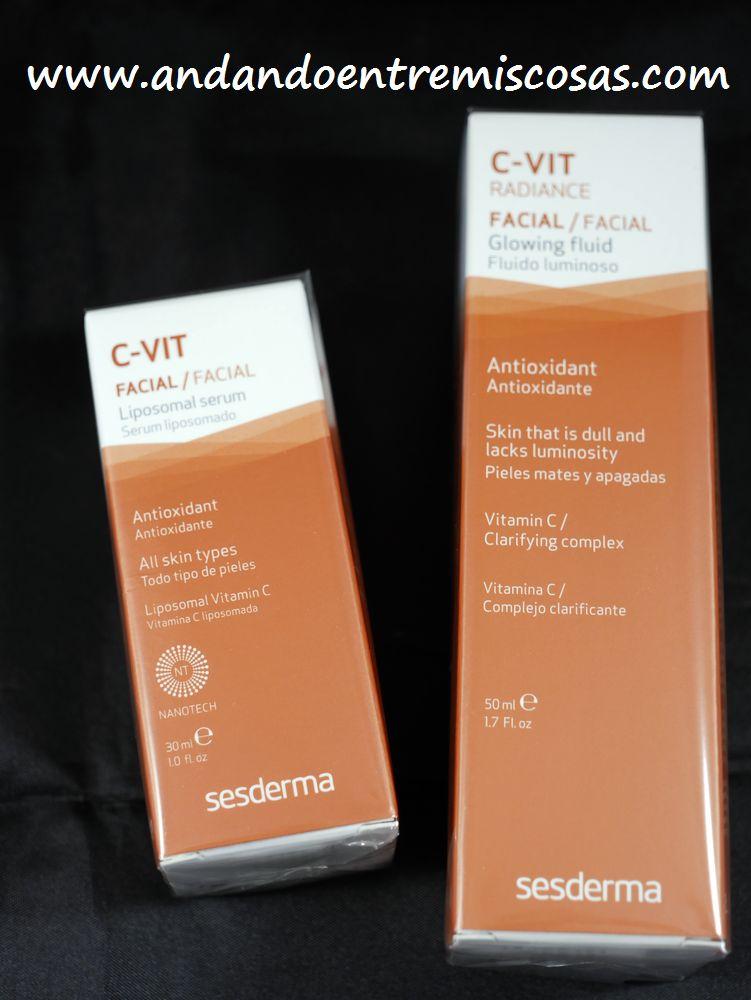 Línea C-VIT de Sesderma
