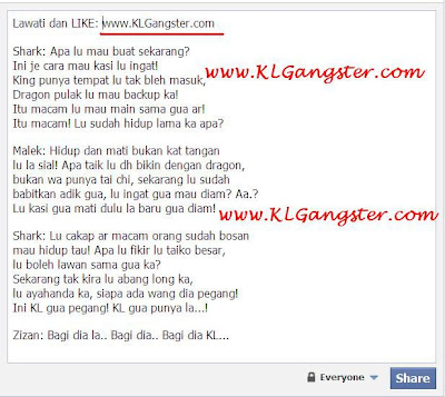 Dialog KL Gangster 2