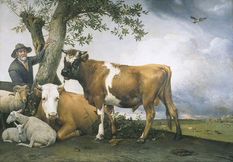 A ritmo de boogie el paisaje en el barroco holand s - Cuadros de vacas ...