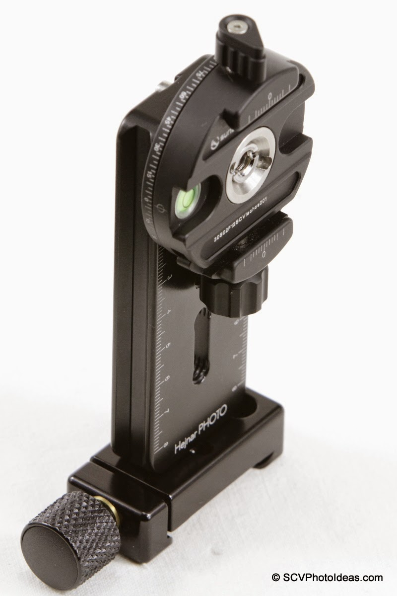 Mini MR Pano Vertical rail + Sunwayfoto DDH-02 - assembled