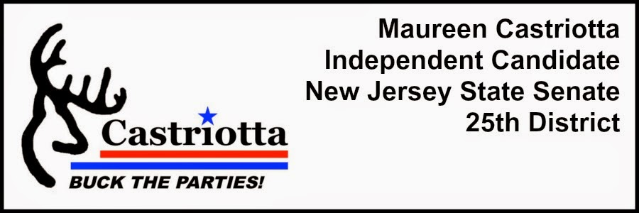 BUCK THE PARTIES! MAUREEN CASTRIOTTA FOR NJ STATE SENATE!
