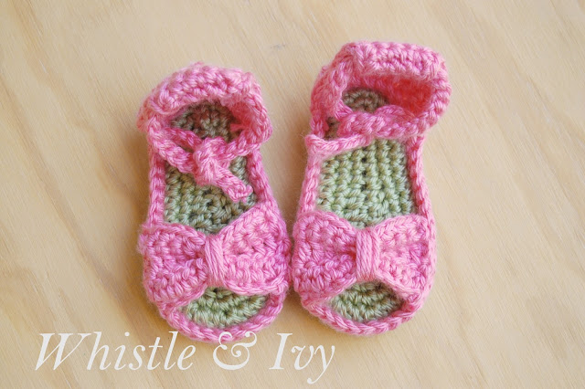Free Baby Boy Crochet Sandals Pattern