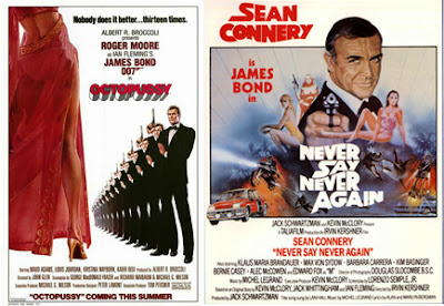 James Bond octopussy never say never 007 sean connery
