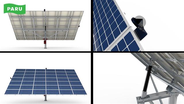 [PARU Solar Tracker] Dual Axis Tracker 07