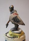 Figurine en cour de peinture