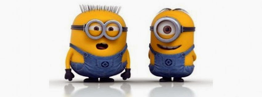 Couverture facebook HD minions