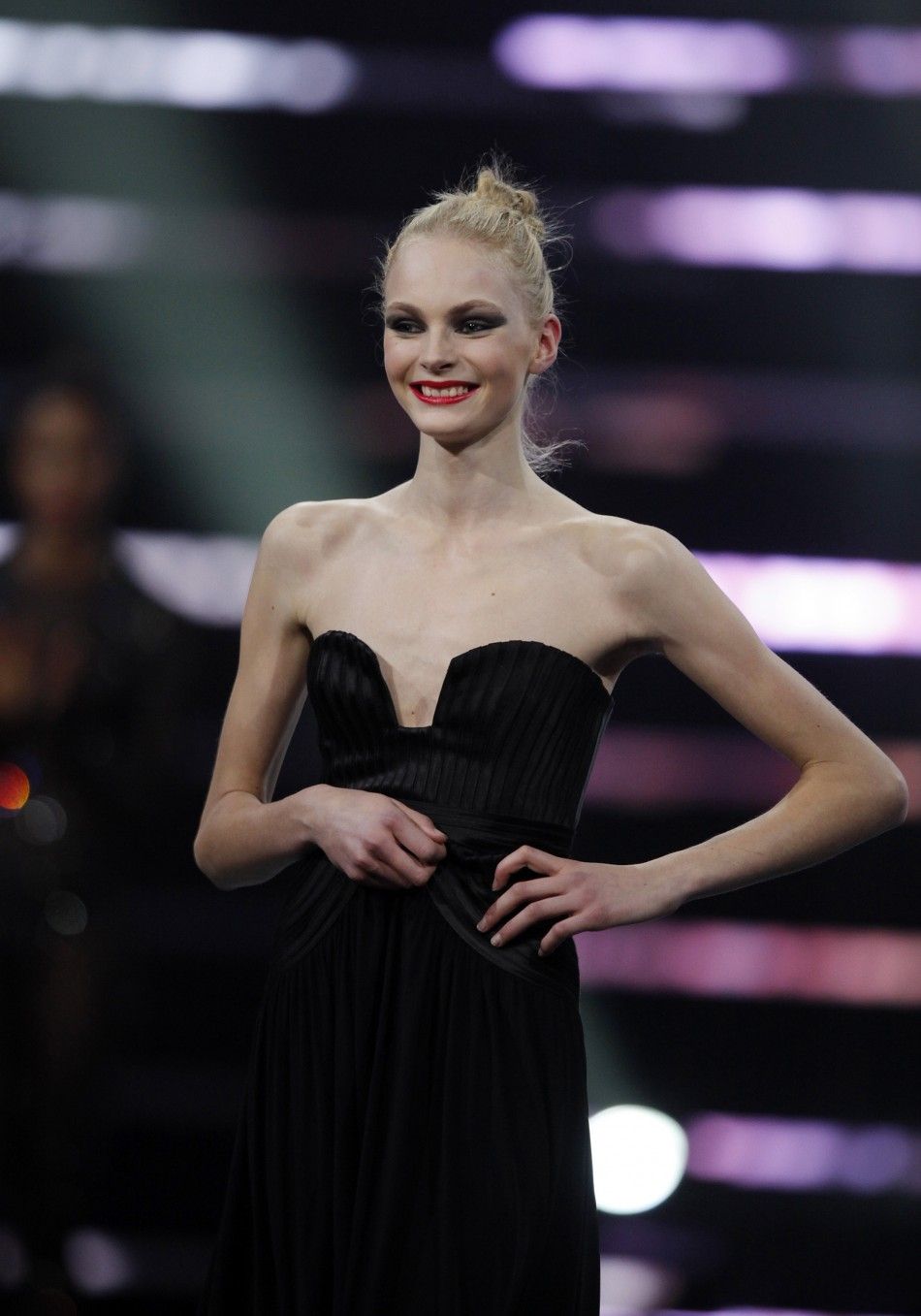 "... old Julia Schneider from Sweden, Winner of ""ELITE MODEL LOOK 2011"