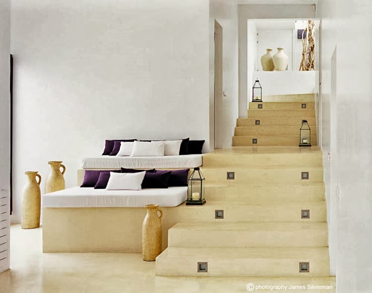 Stairs in Ibiza dream home by Jaime Serra