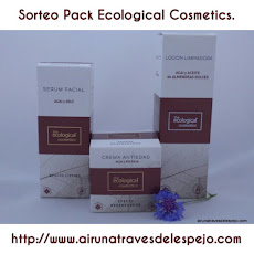 Sorteo Pack Ecological Cosmetics