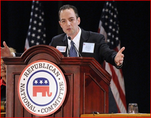 RNC Chairman Priebus making his announcement