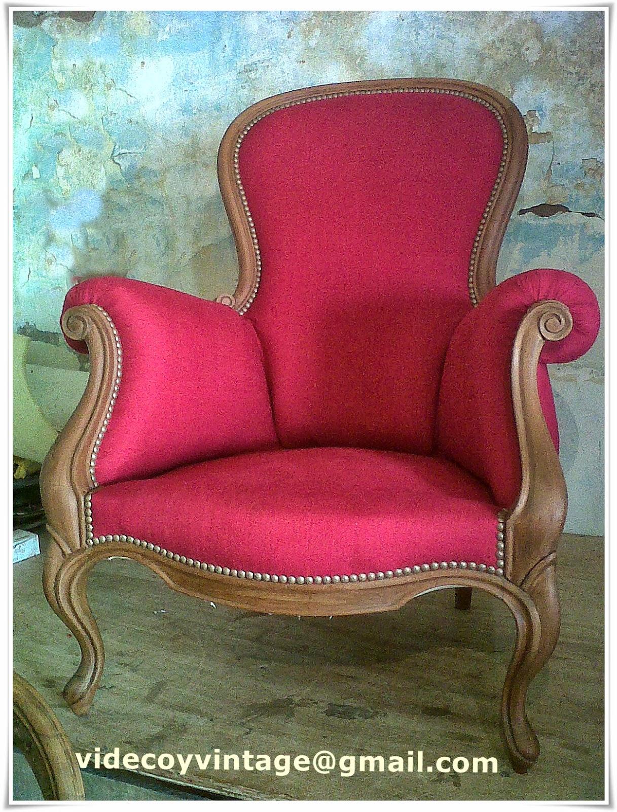 Videcoyvintage deco renovando sillones de estilo - Sillones de estilo ...