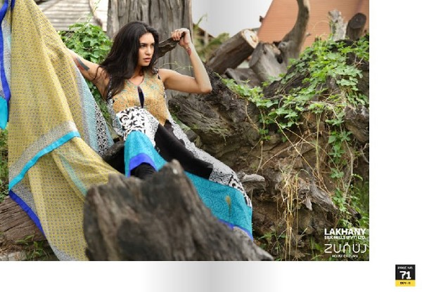 Lsm Lakhani Zunuj Summer Magazine 2013-2014 - Clothing9 | Fashion ...
