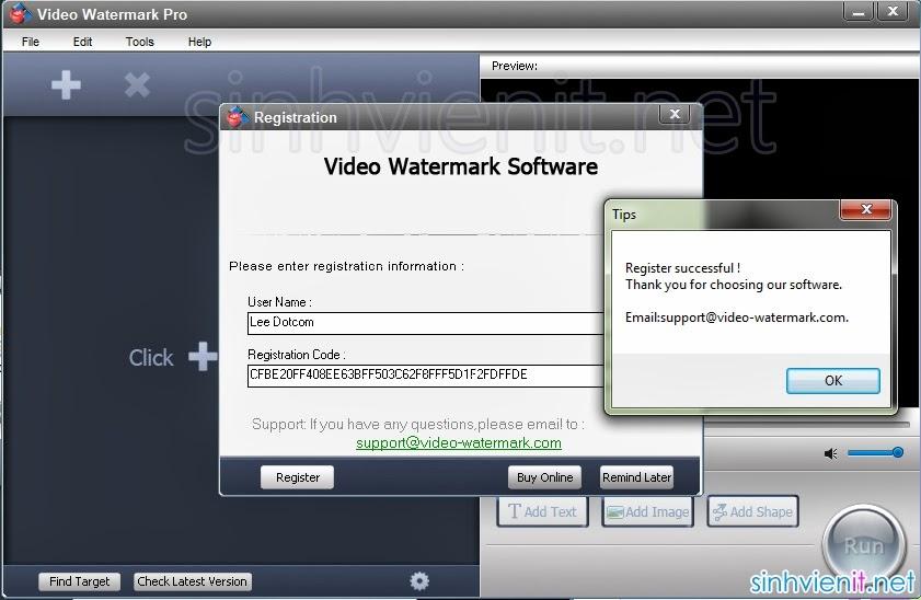 скачать программу video watermark factory 1.0