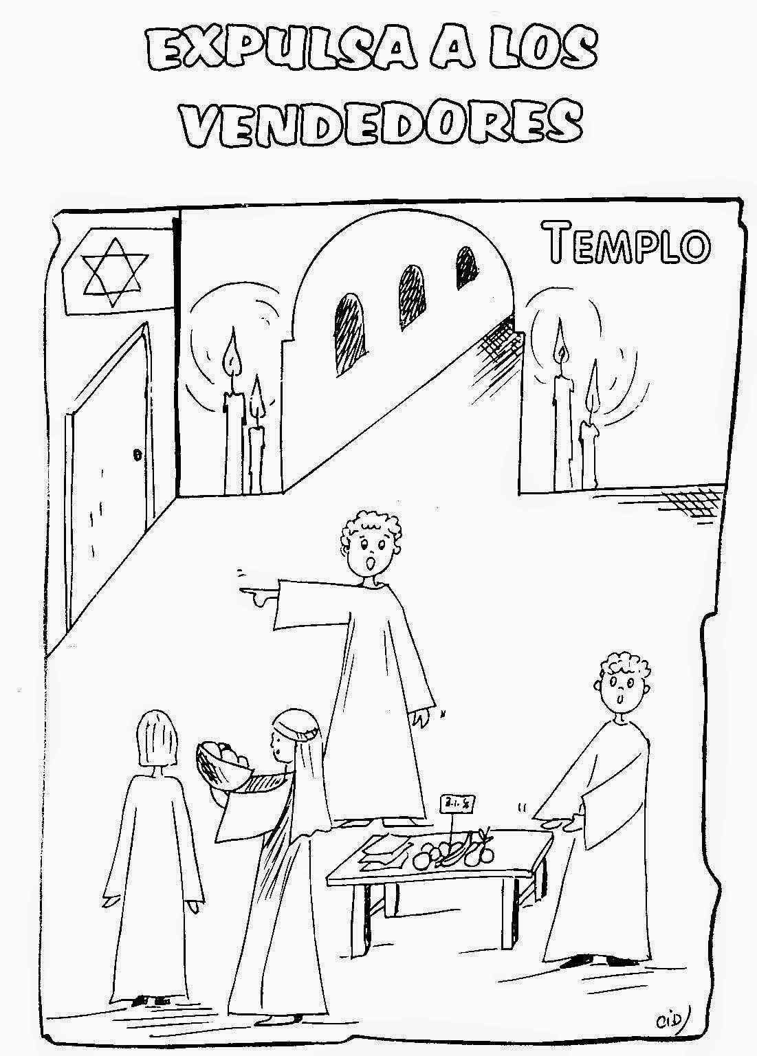SÚBETE AL TREN DE JESÚS.: 25. LÁMINAS PARA COLOREAR SOBRE LA SEMANA ...