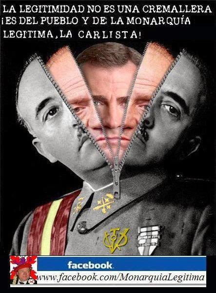 ¡No a la Monarquía Franquista!