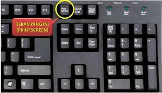 Mengambil ScreenShoot Pada Laptop Dan Komputer