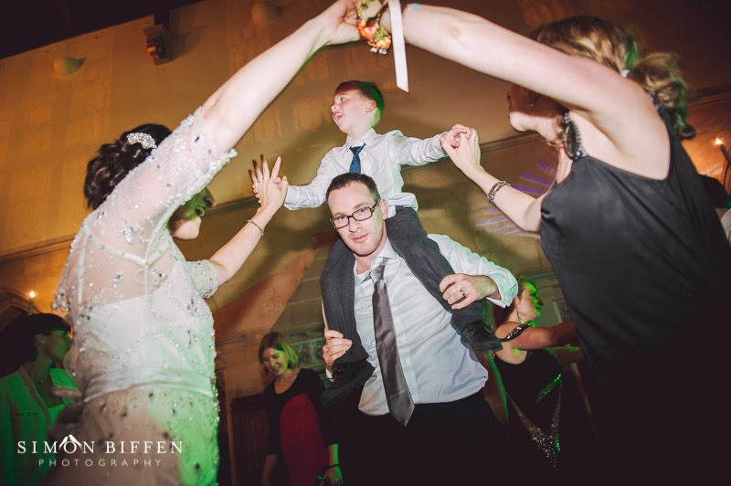 Dancing at St Audries Park wedding