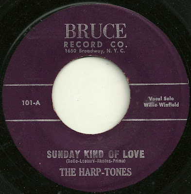 The Harp-Tones - Sunday Kind Of Love & The G-Cleffs - Ka-Ding Dong & A small story: (Does anyone really care obout this stuff anymore?)