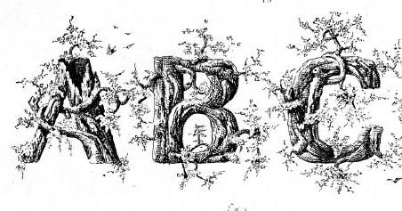 gurney journey rustic alphabets