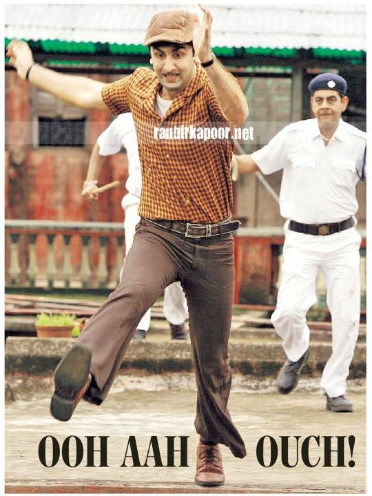 Ranbir Kapoor Shirt Pant Clothes in Barfi! - (16) - Barfi! Movie Stills - Ranbir Kapoor Latest