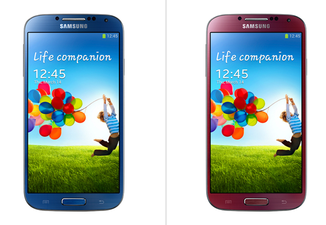 Samsung Galaxy S4 New Colours