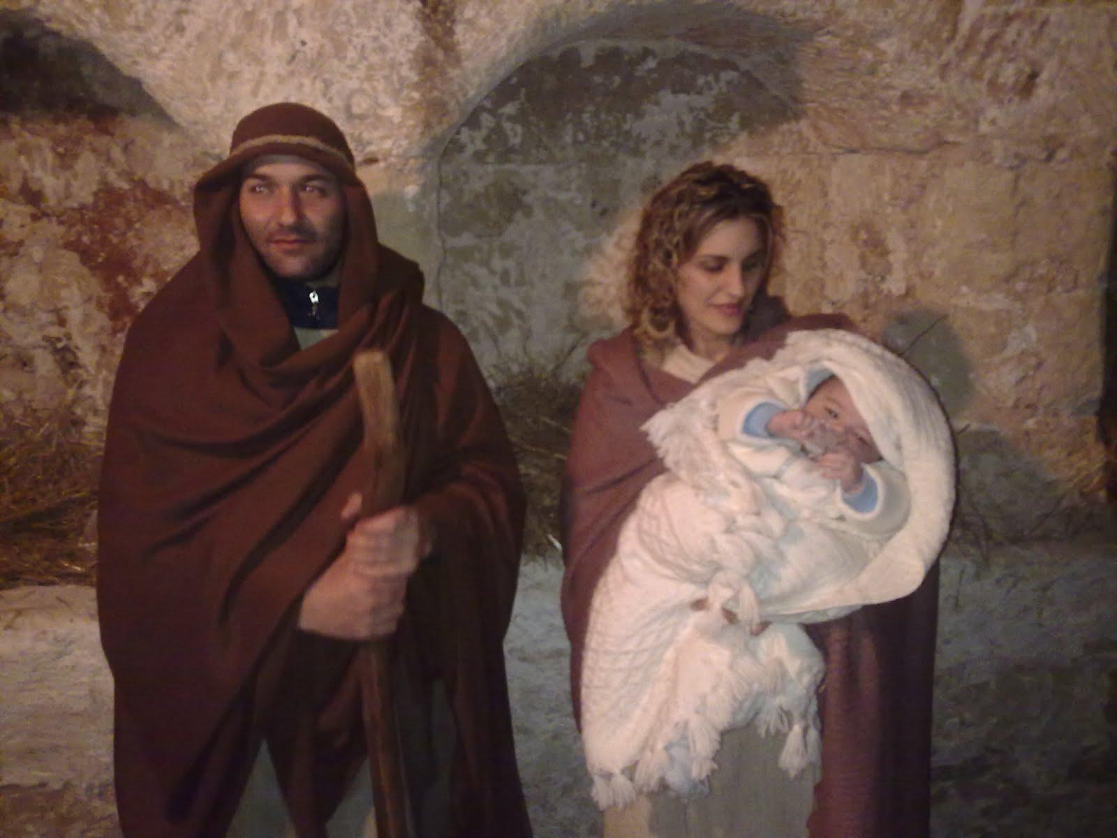 Giuseppe spenga natale 2011 fotofilm - Specchia presepe vivente ...