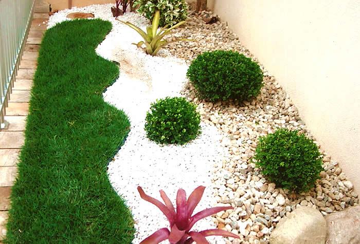 decoracao jardim pedras:Garden Design Ideas with Pebbles