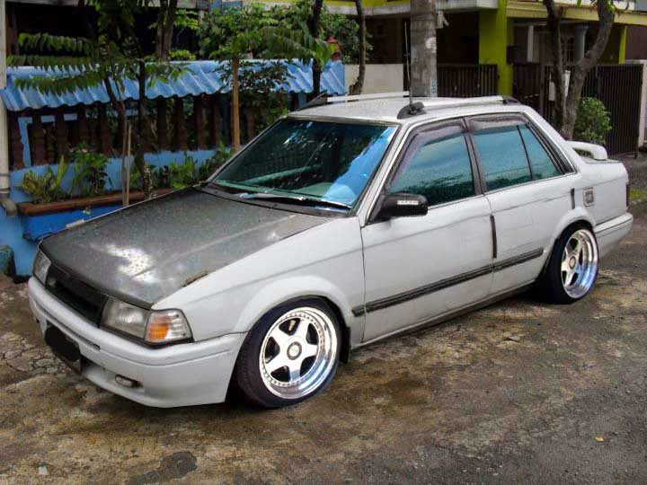 modifikasi mobil ford laser indonesia