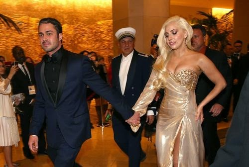 wedding to Lady Gaga and Taylor Kinney