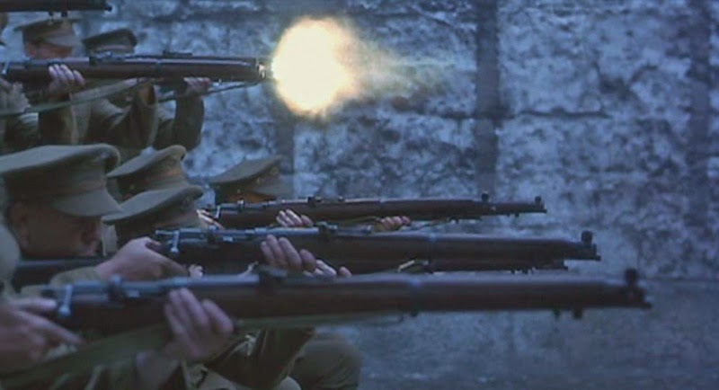British Firing Squad (from Michael Collins page on Internet Movie Firearms Database website)