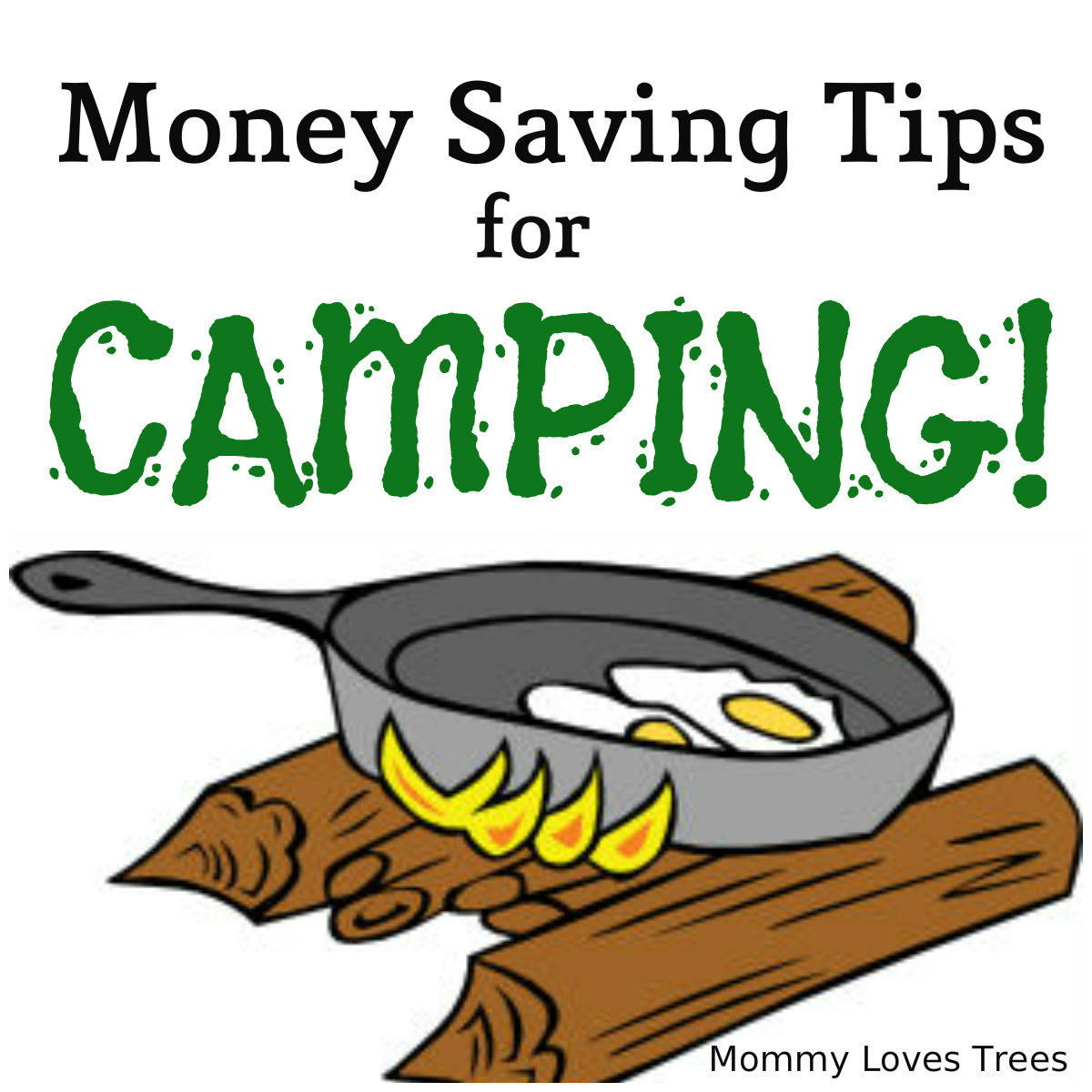 Money saving tips for car camping.