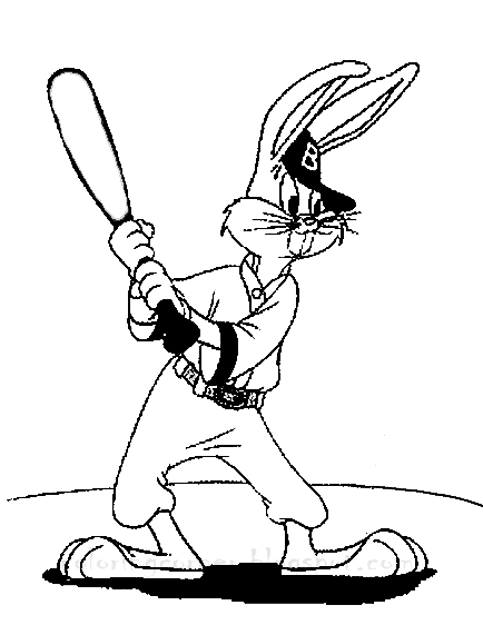 bugs bunny gangster coloring pages