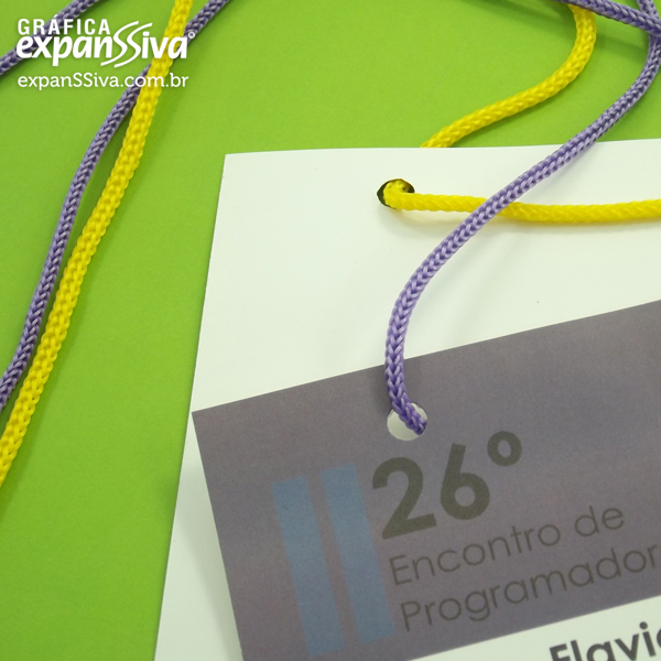 Credenciais Personalizadas Para Eventos em São Paulo