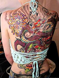Modelos de tatuagens de dragão femininas