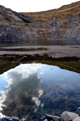 Cariera de bazalt, Rezervatia geologica de la Racos