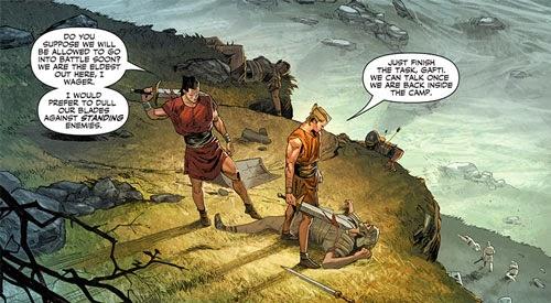 X-O MANOWAR Ancient Rome