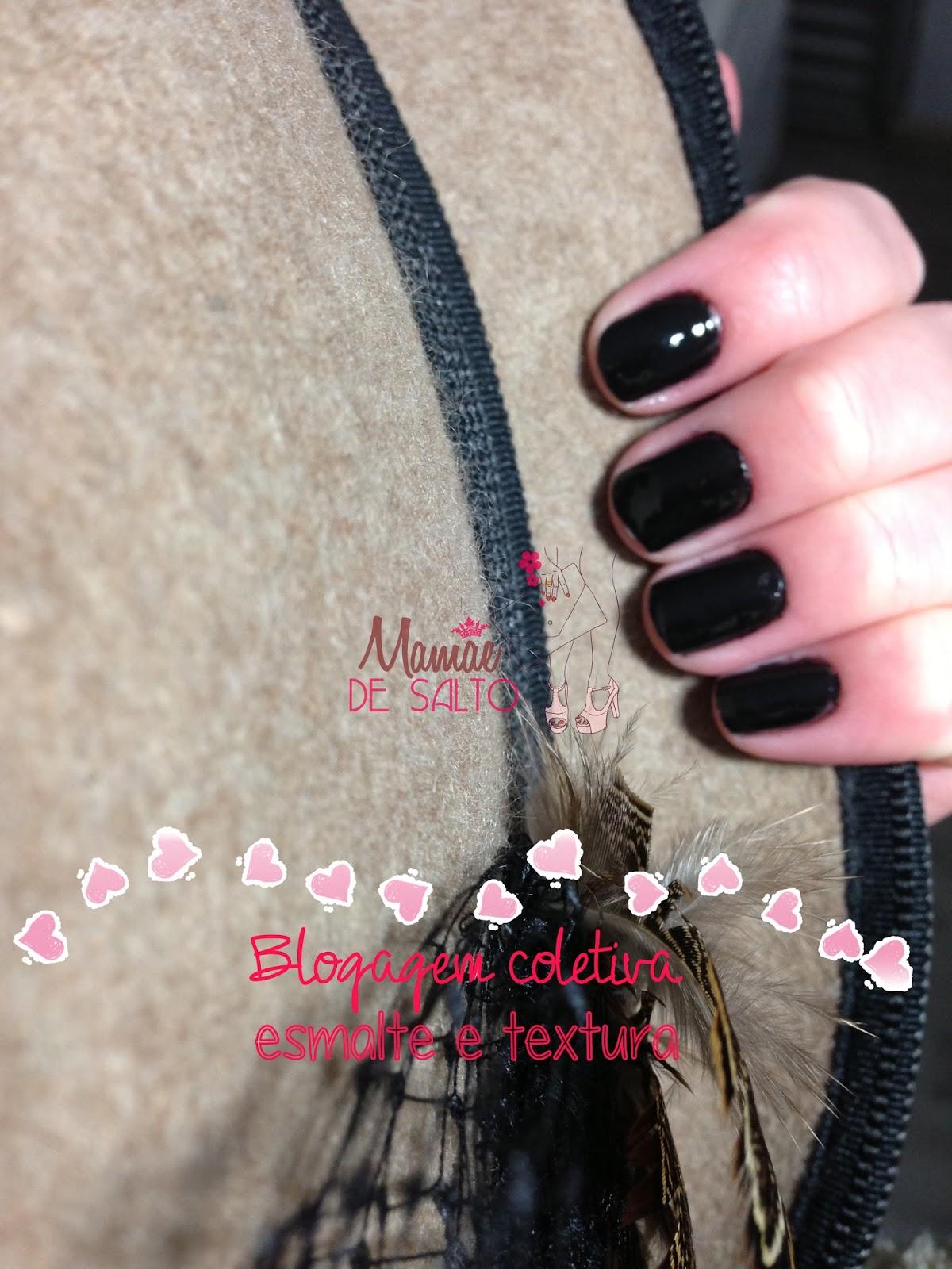 blogagem coletiva esmalte e textura chapéu de lã accessorize blog Mamãe de Salto ==> todos os direitos reservados