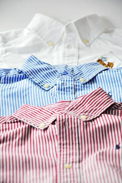 взрослые рубашки на ребенка