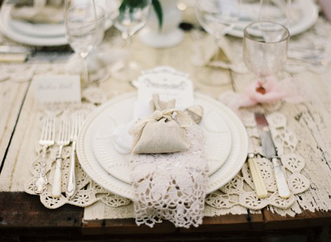 Lovely wedding lace belle the magazine - Decoracion estilo shabby chic ...