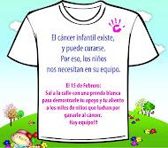 Camiseta blanca el 15 de febrero