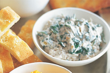 Spinach & Yoghurt Dip Recipe
