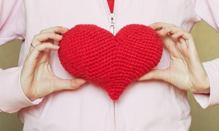 Big Heart Amigurumi Pattern : Crochet & handmade: With all my big woolen heart