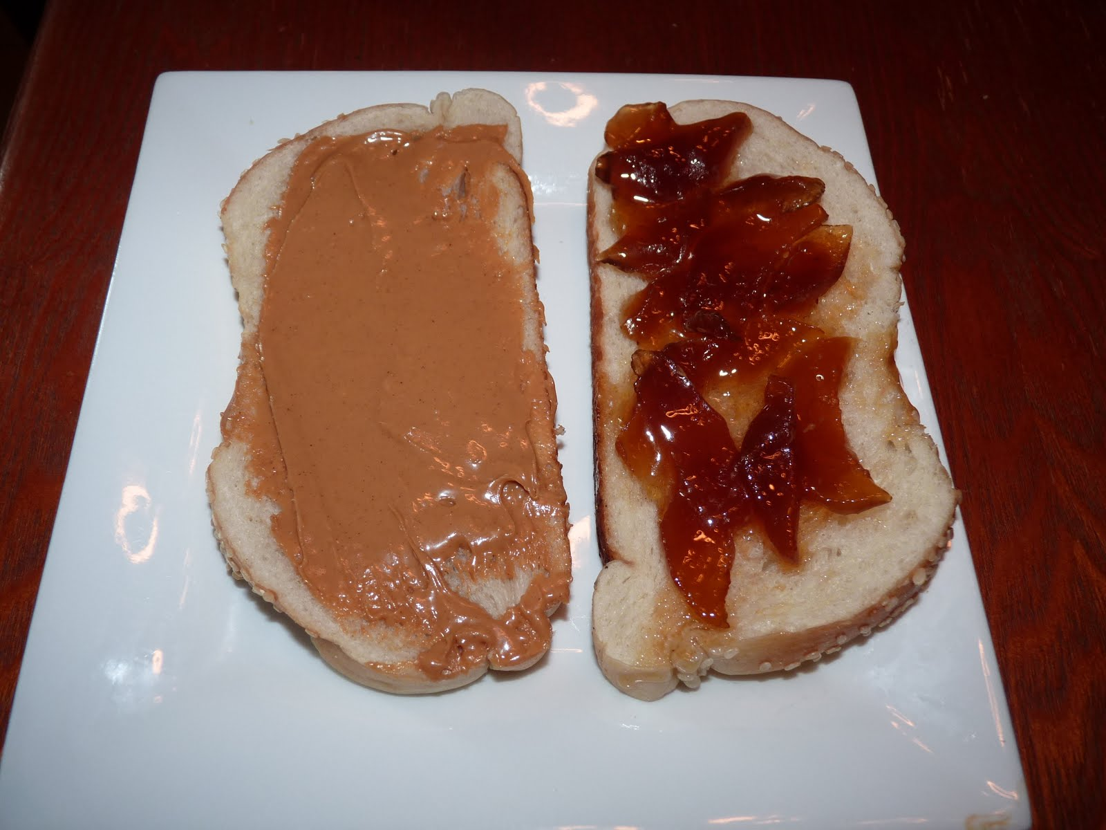 Grilled Peanut Butter and Jelly Sandwich - Sweet T Makes Three