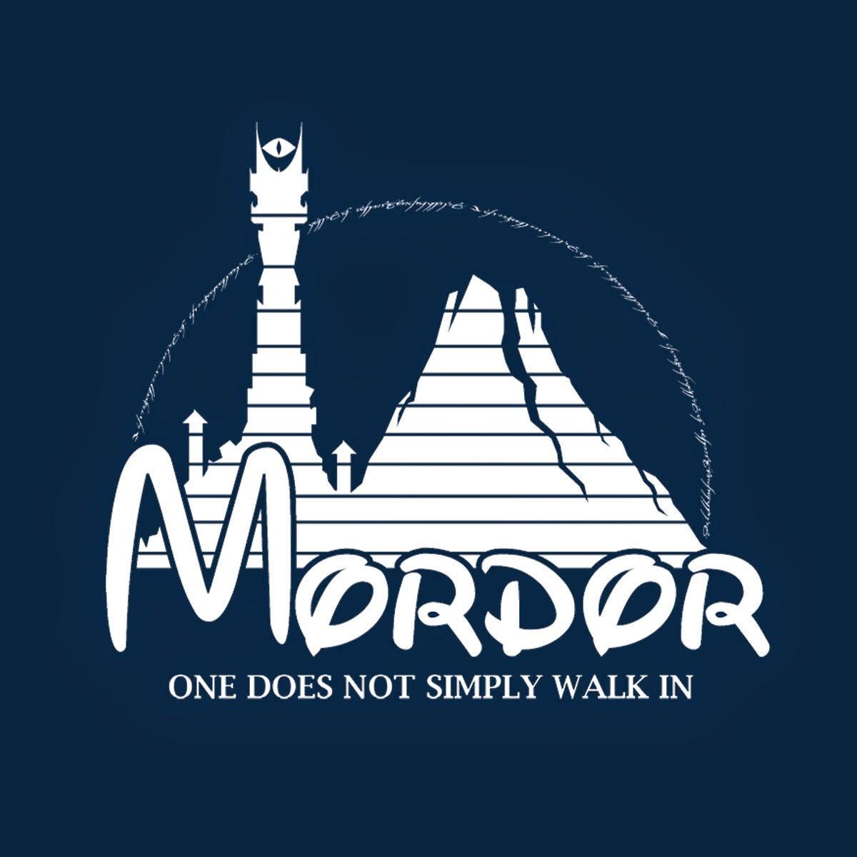 Camiseta Mordor Disney