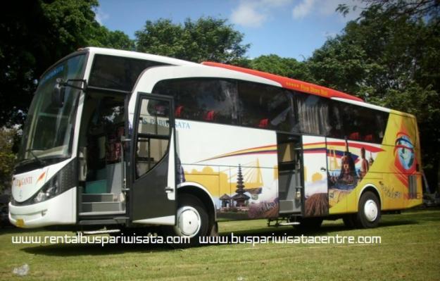 Sewa bus pariwisata cipaganti kapasitas 27 seat 31 seat 47 seat 59