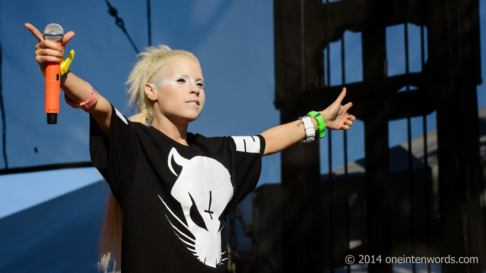 Die Antwoord at Riot Fest Toronto September 7, 2014 Photo by John at One In Ten Words oneintenwords.com toronto indie alternative music blog concert photography pictures