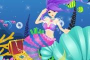 Deniz Kızı Elbise Hazinesi Oyunu