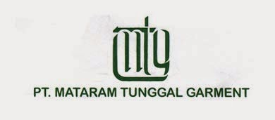 Lowongan Pekerjaan Jogja 2014 PT. MATARAM TUNGGAL GARMENT