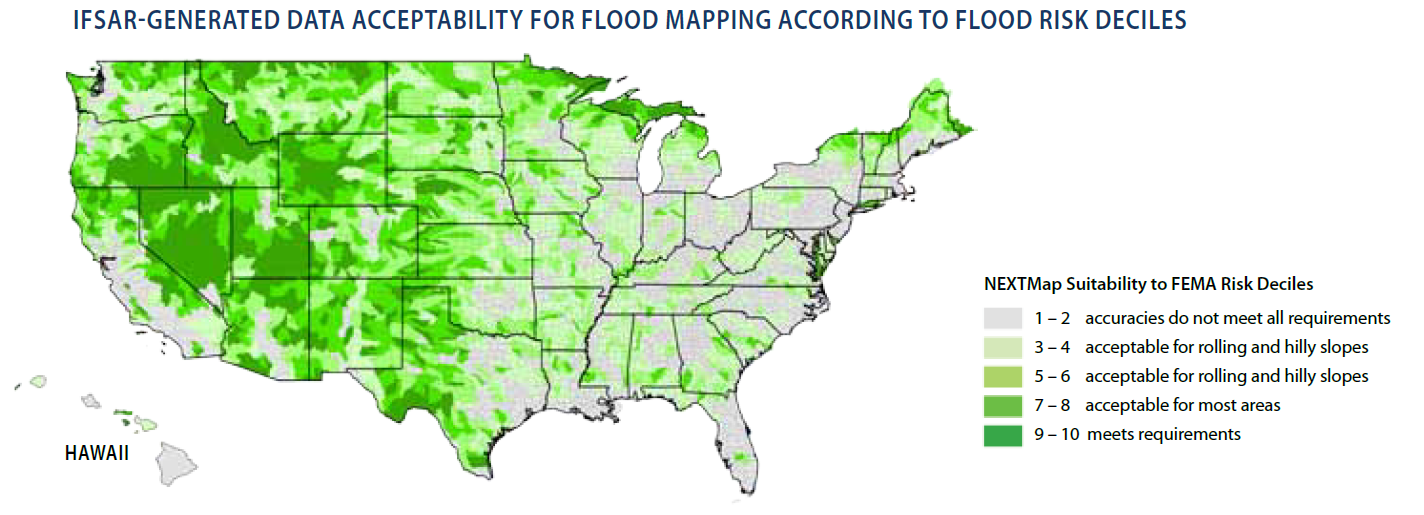 Spendergast lidar and ifsar for flood plain mapping the intermap ifsar survey appears to show that the california coast and the eastern half of the country particularly the atlantic coast and gulf coast are publicscrutiny Gallery