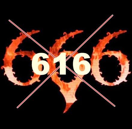 616 devil nmber